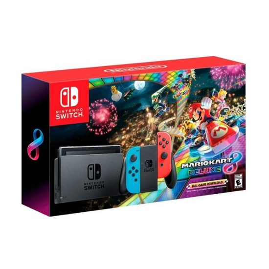 Nintendo Switch Console Mario Kart 8 Deluxe Bundle
