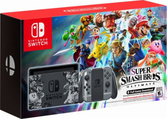 Nintendo Switch Console Super Smash Bros. Ultimate Bundle