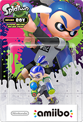 Inkling Boy Amiibo (Splatoon Series)