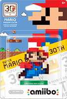 Mario Modern Color Amiibo 30th Anniversary