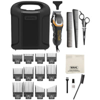 WAHL Extreme Grip Pro Complete Haircutting Kit with 24 pieces