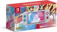 Nintendo Switch Lite Console Pokemon Zacian and Zamazenta Edition
