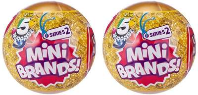Zuru 5 Surprise Mini Brands Series 2 - Bundle of 2