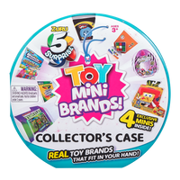 Toy Mini Brands! Collector's Case - 4 Exclusive Mini's Inside