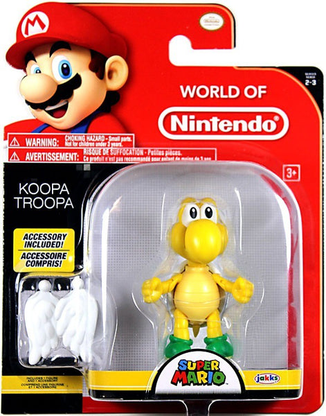 World of Nintendo Koopa Troopa 4 Inch Collectible