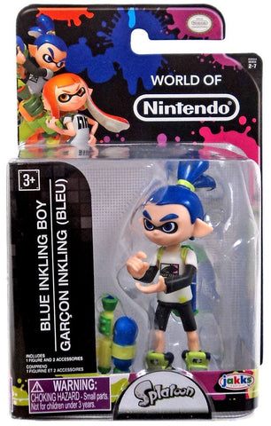 World of Nintendo Splatoon Inkling Boy 2.5 Inch Collectible