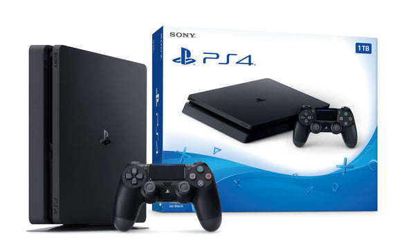 PlayStation PS4 HDR 1TB Console - Jet Black CUH-2215B