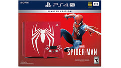 PlayStation 4 Pro 1TB Limited Edition Console Marvel's Spider-Man Bundle