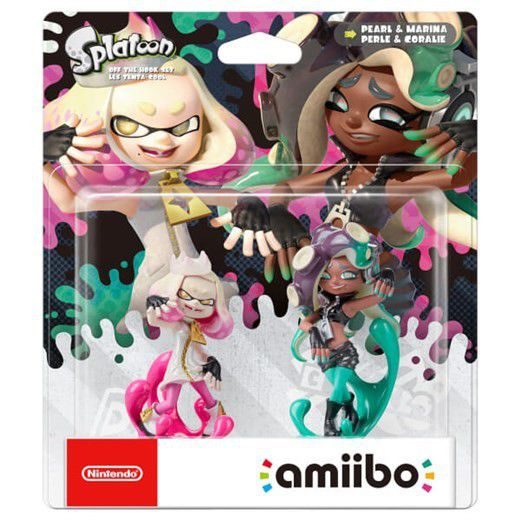 Splatoon Pearl & Marina Amiibo Double Pack (Splatoon 2)