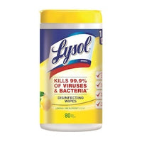 LYSOL, Lemon/Lime Disinfectant All-Purpose Cleaning Wipes - 80 Wipes