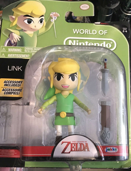 World of Nintendo Toon Link 4""
