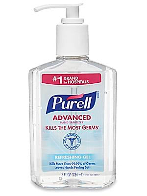 Purell, Advanced Hand Sanitizer with pump - 8oz