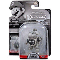 World of Nintendo Bowser Jr. Prototype Gray Color 4 Inch
