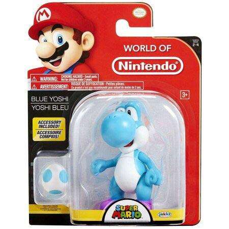 World of Nintendo Blue Yoshi 4""