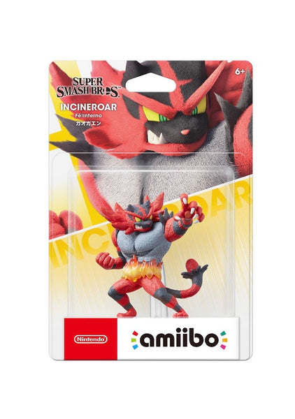 Nintendo Super Smash Bros. amiibo Figure - Incineroar