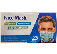 Surgical Style Face Mask, 25 Masks