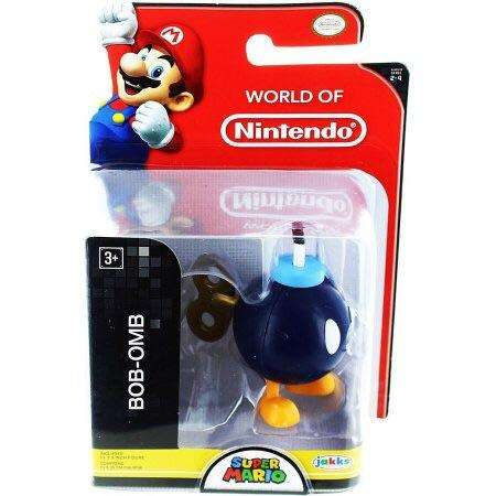 World of Nintendo Bob-omb 2.5 Inch Collectible