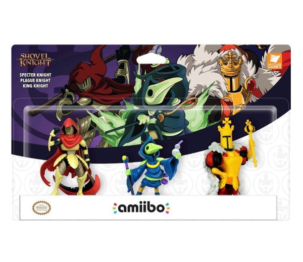 Nintendo Switch Amiibo - Shovel Knight: Treasure Trove Figures (3-Pack)
