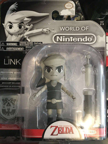 World of Nintendo Toon Link (Gray edition) 4""