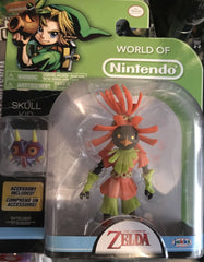 World of Nintendo Skull Kid 4 Inch with Mask Accessory