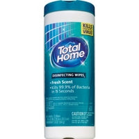 Total Home, Disinfecting Wipes Fresh Scent - 35 Wipes