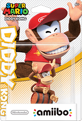 Diddy Kong Amiibo (Super Mario Series)