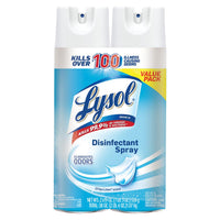 Lysol, Disinfectant Spray - 19 oz Crisp Linen Scent (2 Pack Bundle)