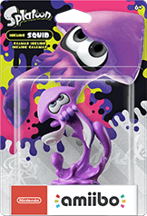 Inkling Squid (Neon Purple) Amiibo (Splatoon Series)