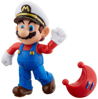 "Super Mario 4"" Figure - Captain Mario With Red Power Moon"