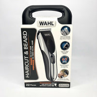 Wahl Clippers Haircut, Beard Trimmer, Cordless/Cord 22 Piece Kit - 9639-2201