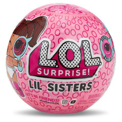 LOL Surprise Lil Sisters Eye Spy Series 4 (Pink Ball)