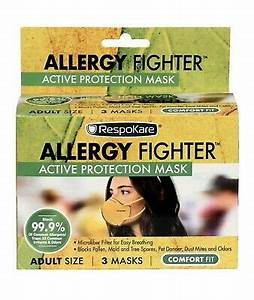 RespoKare, Allergy Fighter, Active Protection Mask (3 Masks)