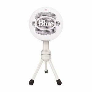 Blue Microphones Snowball iCE USB Condenser Microphone - White