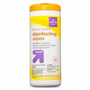 Up & Up Disinfecting Wipes - 35 Wipes (Lemon Scent)