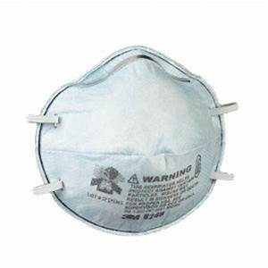 3M Bleach Odor Respirator, Non-Valved, Disposable Respirator