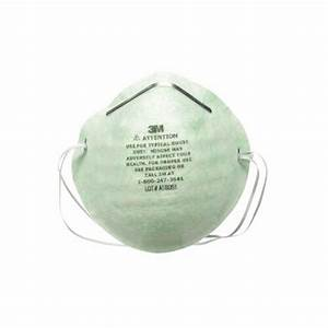 3M Dust Mask, Home Use - 4 Masks