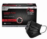 Venom Steel Carbon Filter Dust Mask - 25 Masks