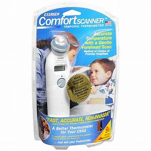 Exergen Comfort Scanner Digital Temporal Thermometer (TAT - 2000C)