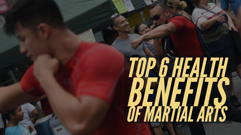 Top 6 Health Benefits of Martial Arts