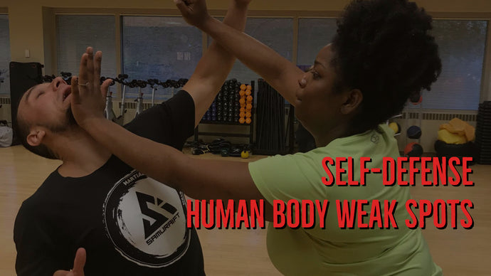 Self-Defense  Human Body Weak Spots