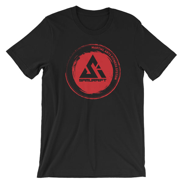 Classic Red Circle Logo SamuraiFT T-shirt