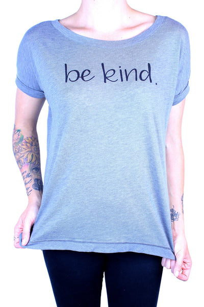 Be Kind. Everyone Has A Story Grey Shirt
