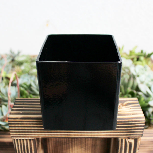 Black Metal Planter Box