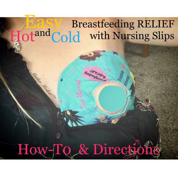 Easy DIY Breast Pain Relief with Nursing Slip