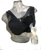 Ultimate Breastfeeding Accessory-Black Nursing Slip Solid Pair