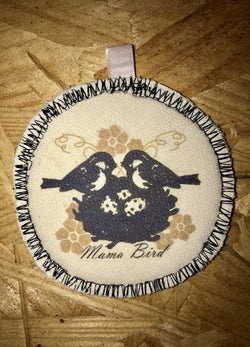Mama Bird Key-chain Nursing Pad