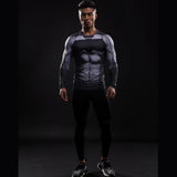 Batman VS Superman LongSleeve Compression Shirt