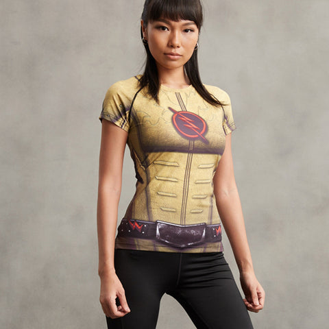 Reverse Flash Women's Compression Shirt