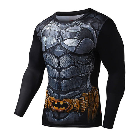 Batman Batsuit Armour Longsleeve Compression Shirt
