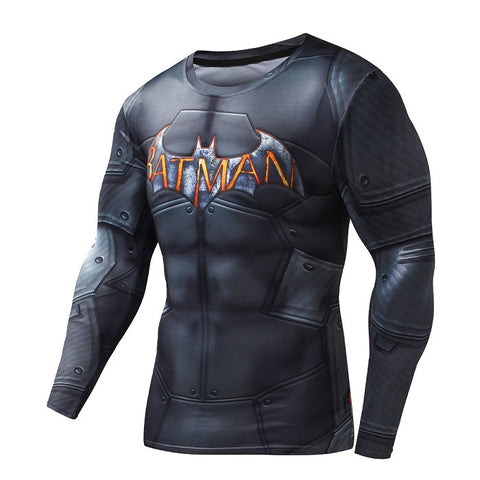 Batman Longsleeve Compression Shirt